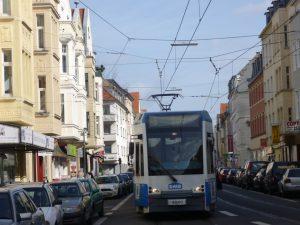 Raitiovaunu Kölnissä