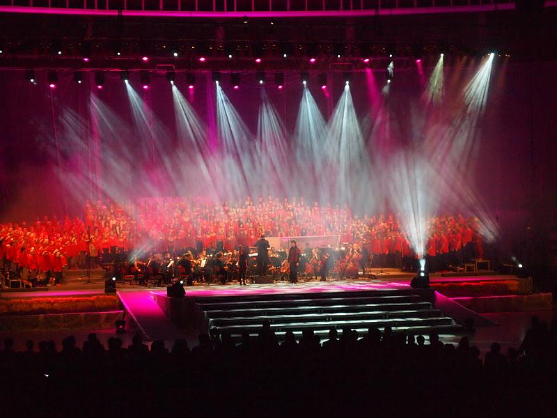 Kuva Valon aika -konsertista