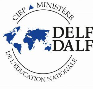 DELF-tutkinnon logo ja linkki